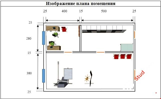 Разработка 3d модели рабочего кабинета (офиса) в Google SketchUp