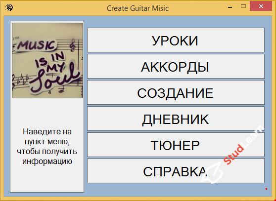Самоучитель игры на гитаре Visual Studio 2015 C#