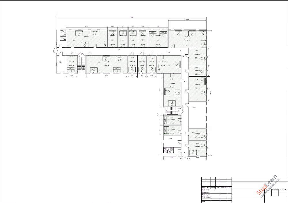 Разработка ЛВС 1,2,3 этажного здания