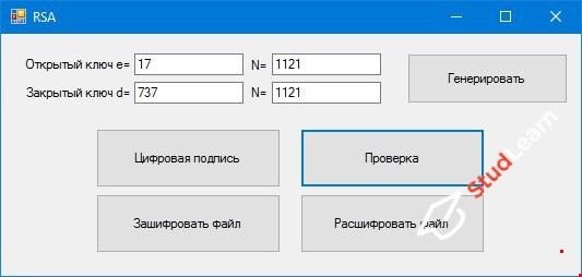 Шифрование, дешифрование, цифровая подпись файлов С#